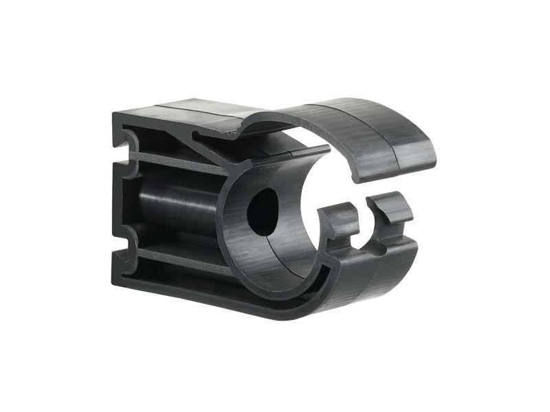Clip de fixation pour tubes Diam. Ext. 20 mm pour réseau air comprimé
