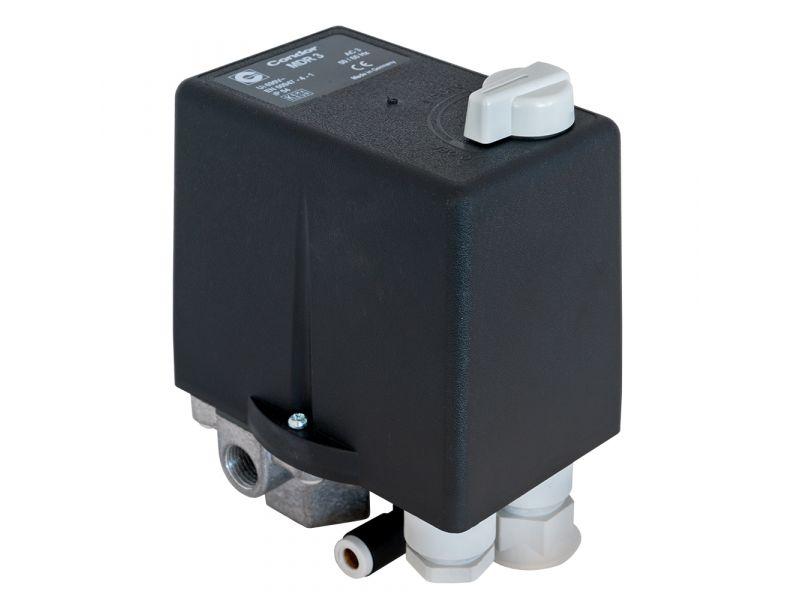 Pressostat Condor avec relai thermique 7.5 ch/ 5.5 kW 11 bar 16 A 1/4
