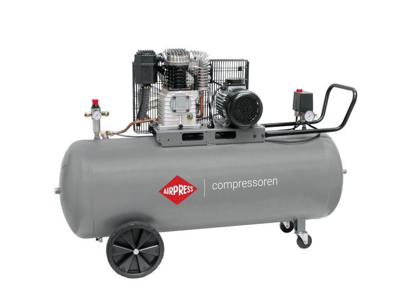 Compresseur HK 425-200 10 bar 3 cv/2.2 kW 280 l/min 200 L
