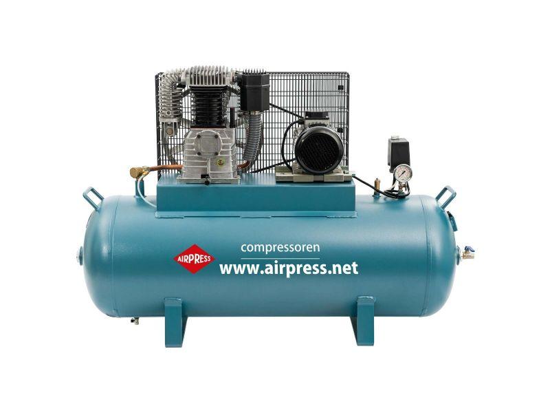 Compresseur K 200-600 14 bar 4 cv/2.9 kW 360 l/min 200 L