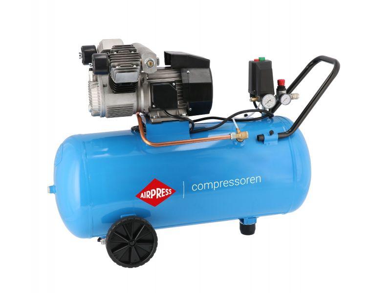 Compresseur KM 100-350 10 bar 2.5 cv/1.8 kW 280 l/min 100 L