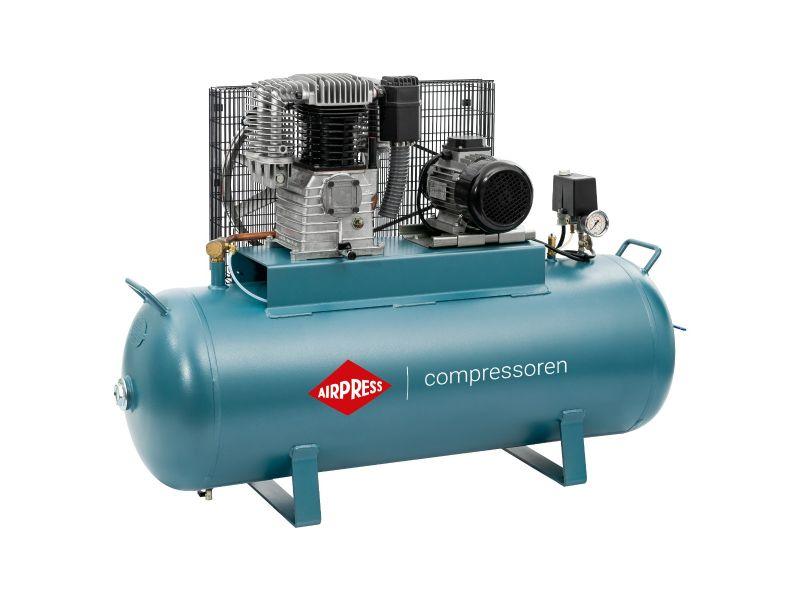 Compresseur K 200-450 14 bar 3 cv/2.2 kW 270 l/min 200 L