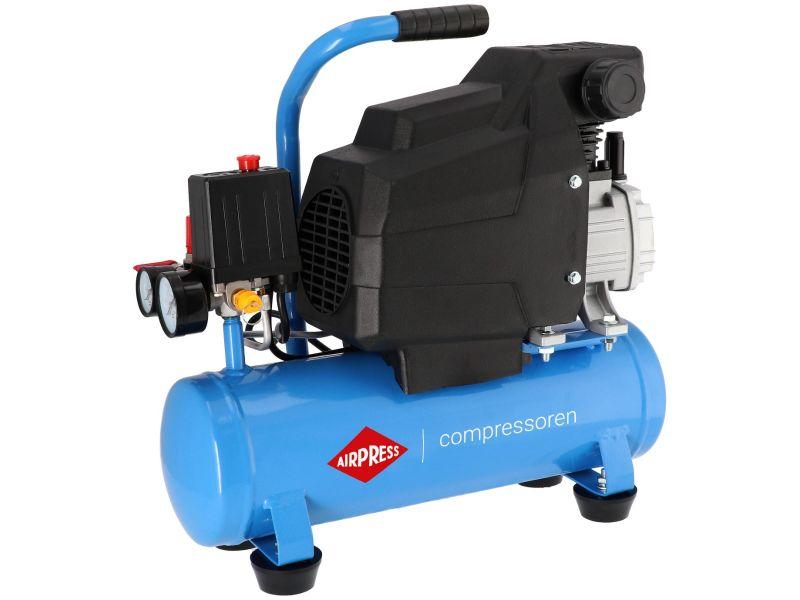 Mini Compresseur H 185-6 8 bar 1.5 cv/1.1 kW 75 l/min 6 L