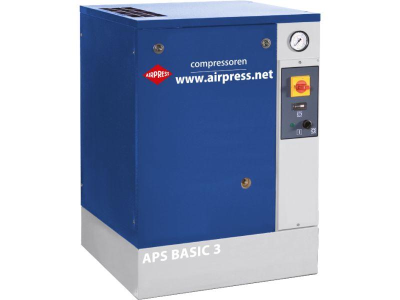 Compresseur à vis APS 3 Basic 10 bar 3 cv/2.2 kW 240 l/min