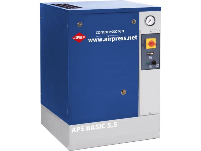 Compresseur à vis APS 5.5 Basic G2 10 bar 5.5 ch/4 kW 516 l/min