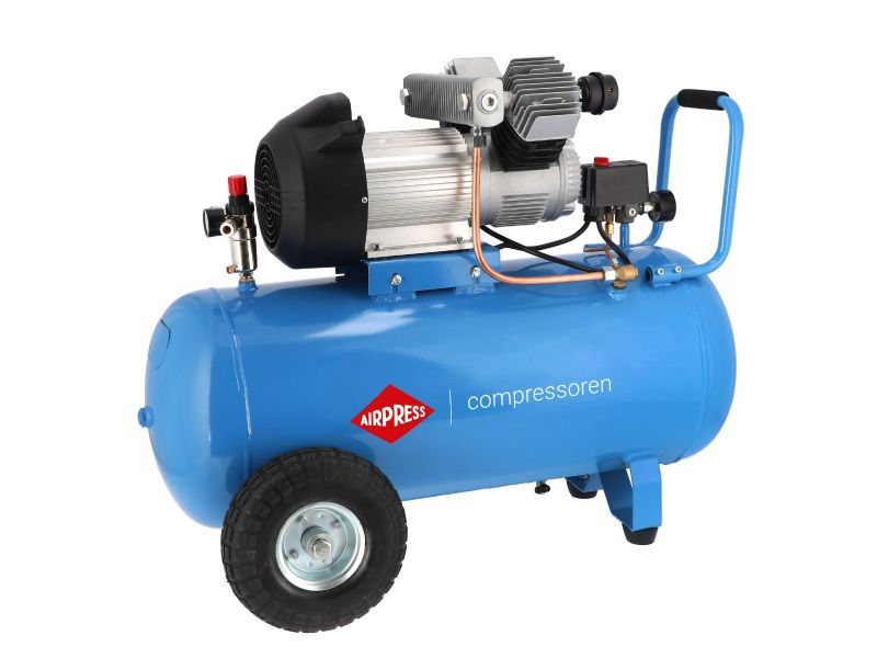Compresseur LM 90-350 10 bar 3 cv/2.2 kW 245 l/min 90 L