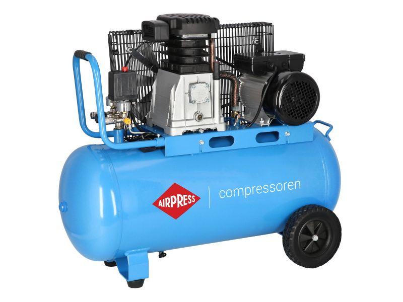 Compresseur HL 340-90 10 bar 3 cv/2.2 kW 272 l/min 90 L