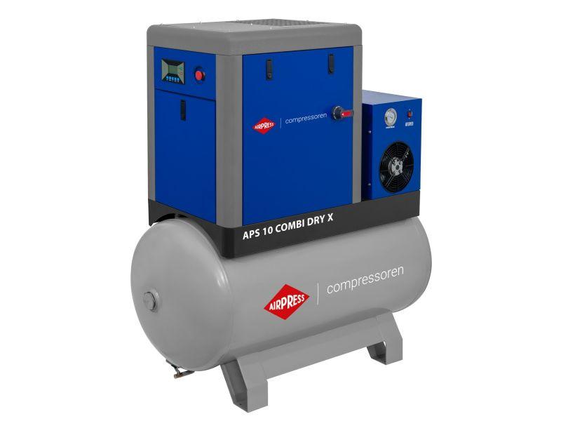 Compresseur à vis APS-X 10 Combi Dry 10 bar 10 ch/7.5 kW 920 l/min 500 L