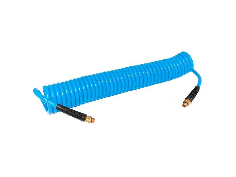 Tuyau spiralé PU 8 x 12 mm 15 m 10 Bar 1/4