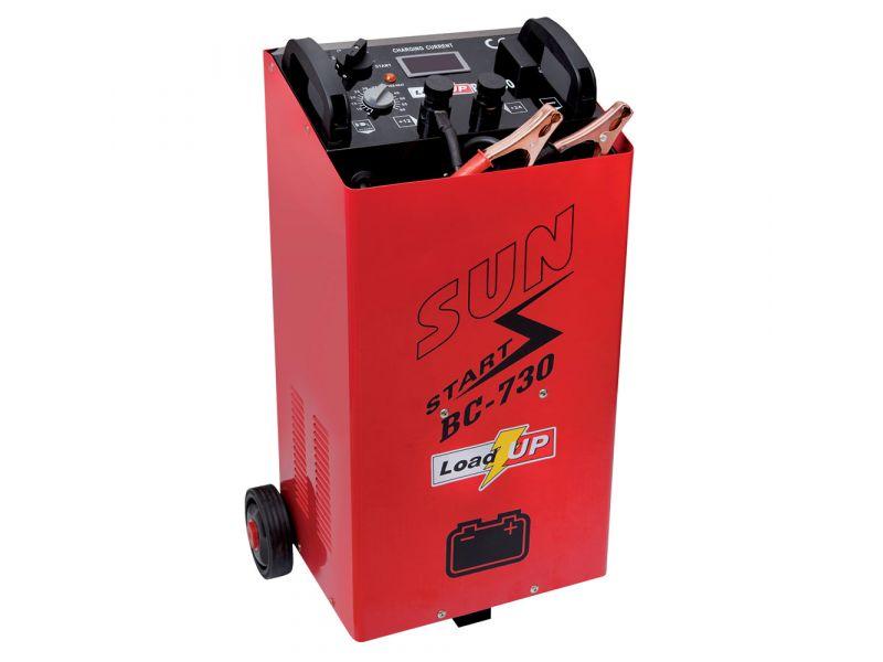 Chargeur batterie BC730 21A 14/24V 40-1500Ah avec assistance au démarrage