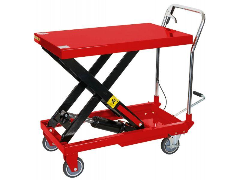 Table élévatrices roulantes 500 kg 260-780 mm