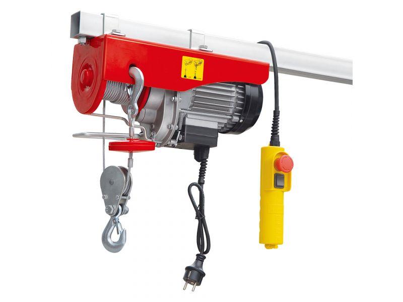 Palans électriques 495/999 kg 10-5 m/min 12 m 1.6 kW