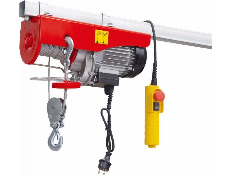 Palans électriques 400/800 kg 10-5 m/min 12 m 1.3 kW
