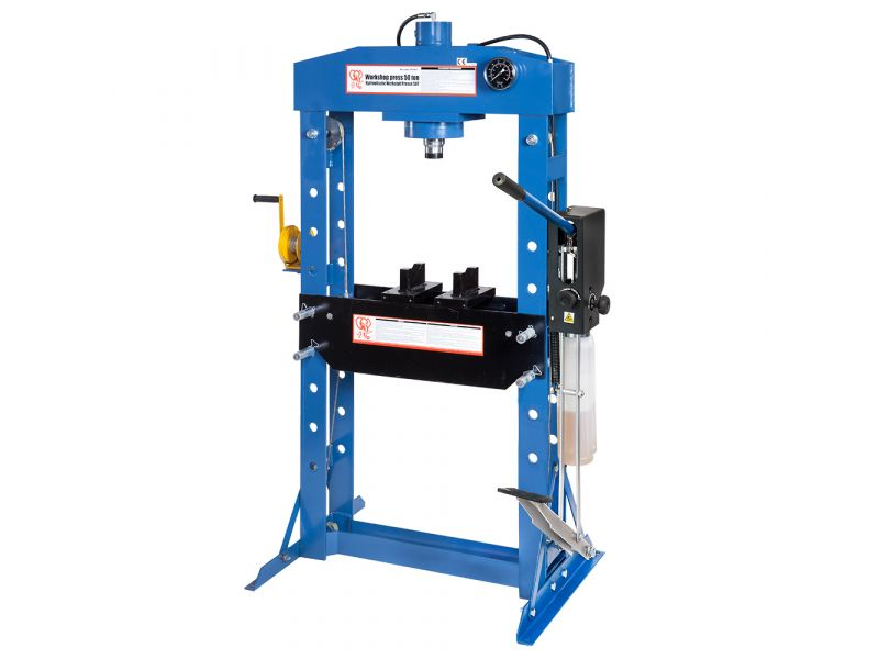 Presse hydrauliques d'atelier 200 mm 50 tonnes 9 niveaux