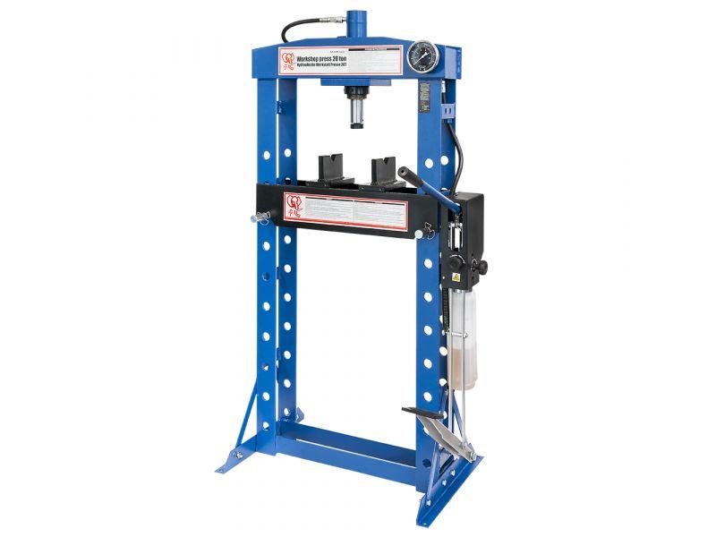 Presse hydrauliques d'atelier 0-1000 mm 20 tonnes 3 niveaux Pompe double