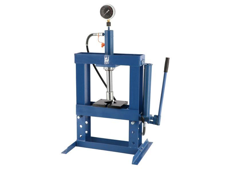 Presse hydrauliques d'atelier 175-350 mm 10 tonnes 3 niveaux