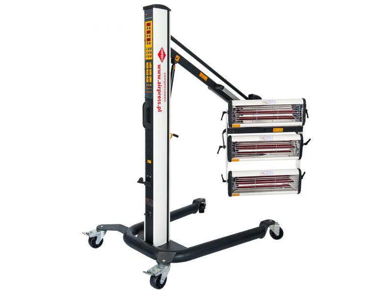 Sécheurs infrarouges 3x1000W 40-100°C 230 V avec capteur de distance