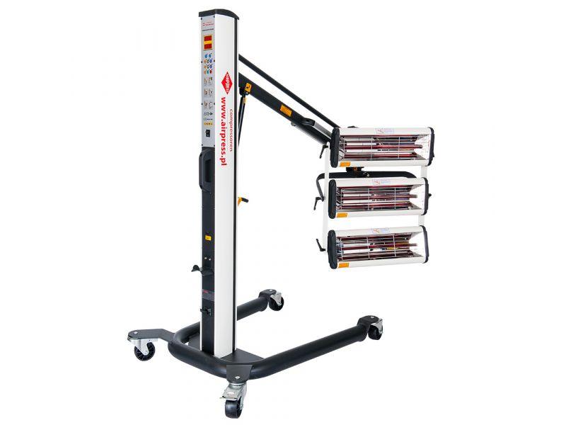 Sécheurs infrarouges 3x1000W 40-100°C 230 V