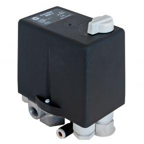 Pressostat Condor avec relais thermique 4 ch/3 kW 11 bar 6.3 A 1/2