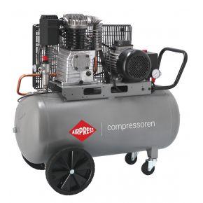 Compresseur HK 425-100 10 bar 3 cv/2.2 kW 280 l/min 100 L