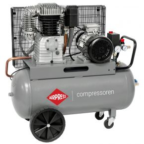 Compresseur HK 700-90 11 bar 5.5 cv/4 kW 530 l/min 90 L