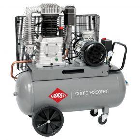 Compresseur HK 1000-90 11 bar 7.5 cv/5.5 kW 698 l/min 90 L