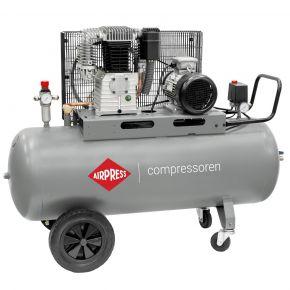 Compresseur HK 650-200 11 bar 5.5 cv/4 kW 490 l/min 200 L