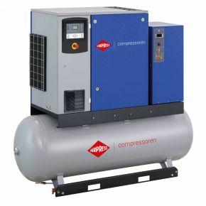 Compresseur à vis APS10DD IVR Combi Dry Onduleur 12.5 bar 10 ch/7.5 kW 270-1225 l/min 500 L