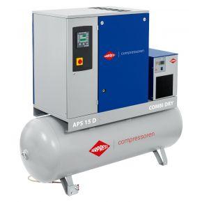 Compresseur à vis APS 15D Combi Dry 8 bar 15 ch/11 kW 1665 l/min 500 L