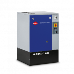 Compresseur à vis APS 3 Basic 10 bar G2 3 cv 294 l/min