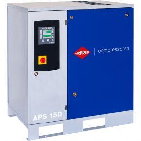 Compresseur à vis APS 15D 8 bar 15 cv/11 kW 1665 l/min