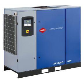Compresseur à vis APS 30BD Dry 10 bar 30 ch/22 kW 3320 l/min