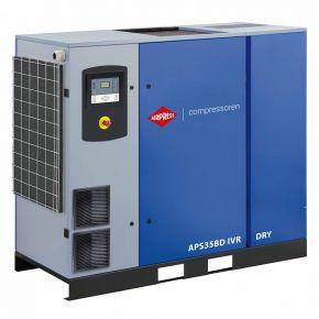 Compresseur à vis APS 35BD IVR Dry Onduleur 13 bar 35 ch/26 kW 770-4835 l/min