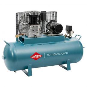 Compresseur K 200-450 14 bar 3 ch/2.2 kW 270 l/min 200 L