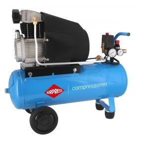 Compresseur H 280-25 10 bar 2 cv/1.49 kW 148 l/min 25 L
