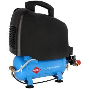 Mini Compresseur Silencieux Sans Huile LMO 6-165 8 bar 1 cv/0.74 kW 132 l/min 6 L
