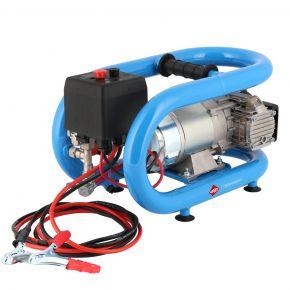 Mini Compresseur 12V Silencieux Sans Huile LMO 3-190 8 bar 0.7 cv/0.5 kW 152 l/min 3L