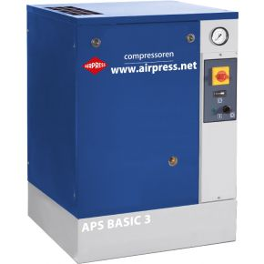 Compresseur à vis APS 3 Basic 10 bar 3 cv/2.2 kW 240 l/min