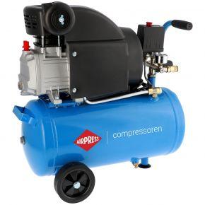 Compresseur HL 310-25 8 bar 2 cv/1.49 kW 157 l/min 24 L