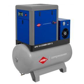 Compresseur à vis APS 10 Combi Dry X 10 bar 10 cv/7.5 kW 920 l/min 500 L