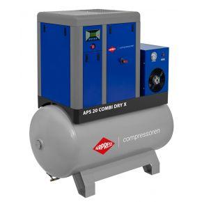 Compresseur à vis APS 20 Combi Dry X 10 bar 20 cv/15 kW 1870 l/min 500 L