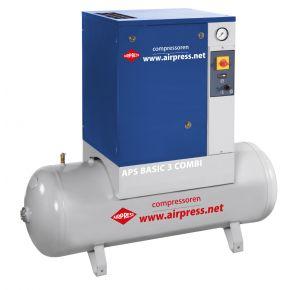 Compresseur à vis APS 3 Basic Combi 10 bar 3 cv 240 l/min 200 l