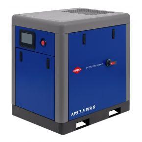 Compresseur à vis APS-X 7.5 IVR Onduleur 10 bar 7.5 cv/5.5 kW 170-650 l/min