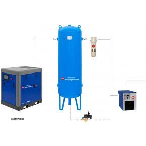 Kit d'installation à air comprimé APS 7.5 IVR X / 300 / 9