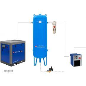 Kit d'installation à air comprimé APS 10 IVR X / 500 / 12
