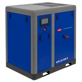 Compresseur à vis APS 20 IVR X Onduleur 10 bar 20 cv/15 kW 410-1870 l/min