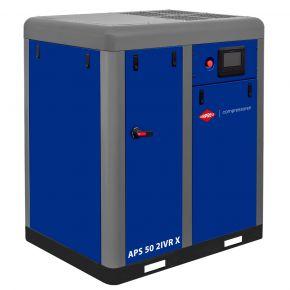 Compresseur à vis APS-X 50 IVR Onduleur Bi-étagé 10 bar 50 ch/37 kW 1860-5900 l/min