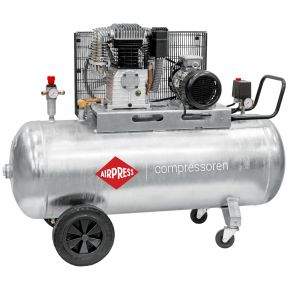 Compresseur G 700-300 Pro 11 bar 5.5 cv/4 kW 530 l/min 270 L Cuve galvanisée