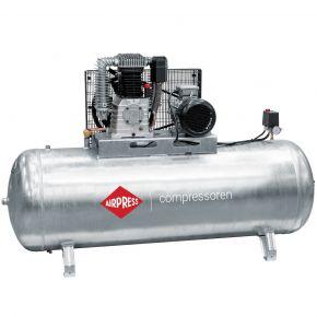 Compresseur G 1000-500 Pro 11 bar 7.5 cv/5.5 kW 698 l/min 500 L Cuve galvanisée