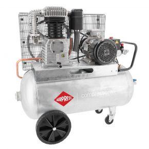 Compresseur G 700-90 Pro 11 bar 5.5 cv/4 kW 530 l/min 90 L 400V